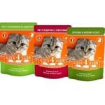 Клуб 4 Лапы консервы для кошек