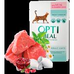 Optimeal консервы для кошек