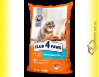 Купить Club 4 Paws Premium с Лососем 14кг