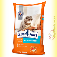 Club 4 Paws Premium с Лососем 14кг