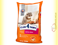 Купить Club 4 Paws Premium с Телятиной