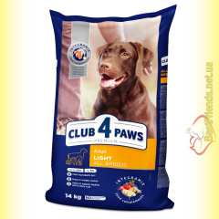 Club 4 Paws Premium Light Контроль веса 14кг