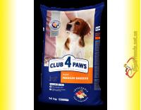 Купить Club 4 Paws Premium Adult Medium Breeds для собак Средних пород