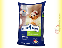 Купить Club 4 Paws Premium Adult Small Breeds для собак Малых пород