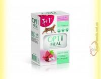 Купить Набор Optimeal wint Veal для взрослых кошек - с Телятиной в клюквенном соусе 3+1
