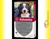 Купить Advantix Капли для собак весом от 40 до 60кг