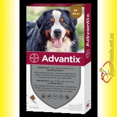 Advantix Капли для собак весом от 40 до 60кг