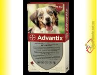 Купить Advantix Капли для собак весом от 10 до 25кг