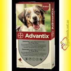 Advantix Капли для собак весом от 10 до 25кг