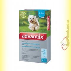 Advantix капли для собак весом от 4 до 10кг