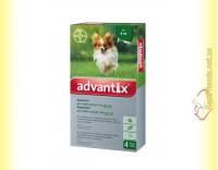 Купить Advantix капли для собак весом до 4кг