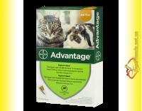 Купить Advantage 40 Капли для кошек весом менее 4кг