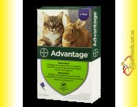 Купить Advantage 80 Капли для кошек весом свыше 4кг