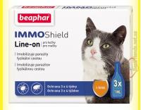 Купить Beaphar IMMO Shield Line-on Капли от паразитов для кошек 1-10кг
