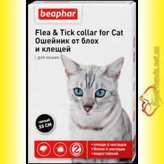 Beaphar Ошейник от блох для кошек цветной 35см