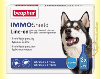 Купити Beaphar IMMO Shield Line-on Капли от паразитов для собак 15-30кг