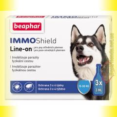 Beaphar IMMO Shield Line-on Капли от паразитов для собак 15-30кг