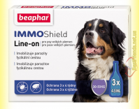 Купить Beaphar IMMO Shield Line-on Капли от паразитов для собак 30-50кг