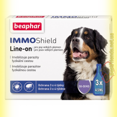 Beaphar IMMO Shield Line-on Капли от паразитов для собак 30-50кг