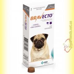 Bravecto Таблетки от блох и клещей для собак весом от 4,5 до 10кг