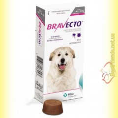 Bravecto Таблетки от блох и клещей для собак весом от 40 до 56кг