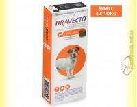 Купить Bravecto Таблетки от блох и клещей для собак весом от 4,5 до 10кг