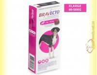Купить Bravecto Таблетки от блох и клещей для собак весом от 40 до 56кг