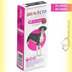 Bravecto Таблетки від бліх та кліщів для собак вагою від 40 до 56кг
