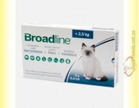 Купить Broadline Spot-On Капли на холку от паразитов для кошек весом до 2,5кг
