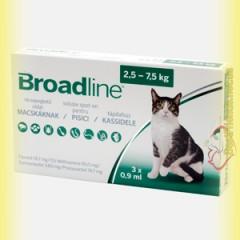 Broadline Spot-On Капли на холку от паразитов для кошек до 2,5кг