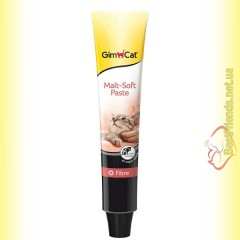 GimCat Malt Soft Paste паста для вывода шерсти для кошек 100гр