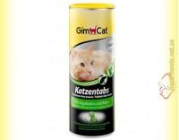 Купить GimCat Katzentabs витамины с алгобиотином и биотином 425гр