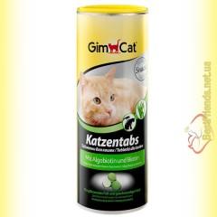 GimCat Katzentabs витамины с алгобиотином и биотином 425гр