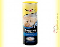 Купить GimCat Katzentabs витамины с рыбой и биотином 425гр