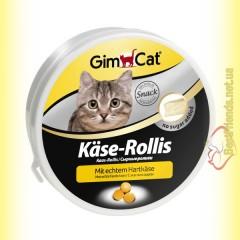 GimCat Käse-Rollis сырные ролики для кошек 400шт