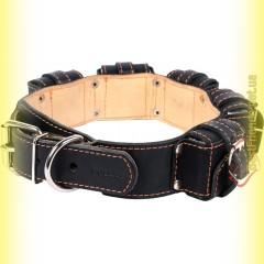 Ошейник кожаный с утяжелителями №1, 5*400гр Collar