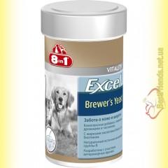 8in1 Excel Brewer's Yeast Пивные дрожжи с чесноком, для кошек и собак 140таб.