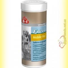 8in1 Excel Mobile Flex Plus Кормовая добавка для собак с глюкозамином 150гр.