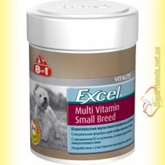 8in1 Excel Multi Vitamin Small Breed Мультивитамины для собак мелких пород 70таб.