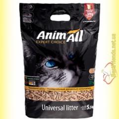 AnimAll древесный наполнитель Универсал 5,3кг