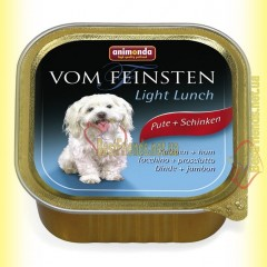 Animonda Vom Feinsten Light Lunch индейка и ветчина 150гр