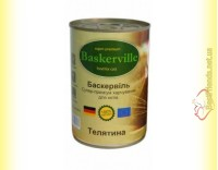 Купить Baskerville консерва для кошек Телятина 400гр