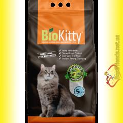 BioKitty Super Premium White Marseille Soap гигиенический наполнитель для кошачьего туалета с ароматом Марсельского Мыла