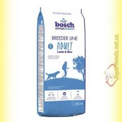 Bosch Breeder Lamb & Rice для взрослых собак с ягненком и рисом 20кг