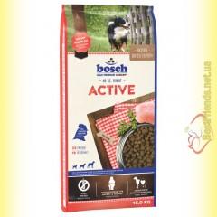 Bosch Active для взрослых собак высокого уровня активности 15кг
