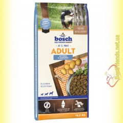 Bosch Adult Fisch & Kartoffel для взрослых собак с рыбой и картофелем 15кг