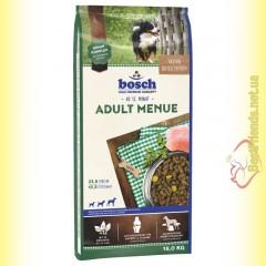 Bosch Adult Menue для взрослых собак со средним и повышенным уровнем активности 15кг