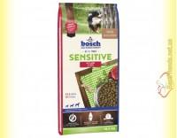 Купить Bosch Sensitive Lamm & Reis для взрослых собак, склонных к аллергическим реакциям 15кг