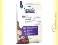 Купить Sanabelle Adult Ostrich для взрослых кошек с мясом страуса 10кг