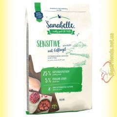 Sanabelle Sensitive with Poultry для взрослых кошек с чувствительным пищеварением с птицей 10кг